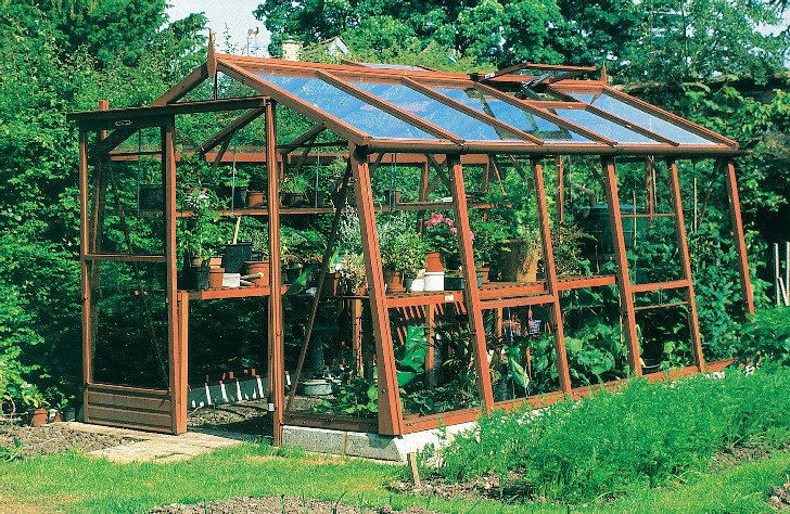 Click On Image To View A Larger Picture Of The Amateur Greenhouse